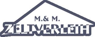 M. & M. Zeltverleih Logo